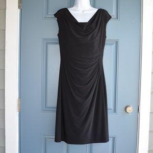 Bk. Side Ruched Dress by Ralph Lauren Green Label
